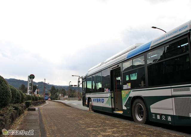 三重交通「松阪熊野線」 1712_22 滝原宮前にて_03.jpg