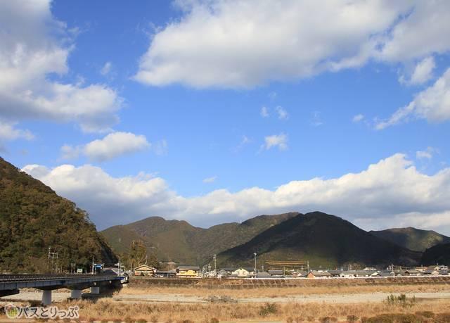 海山バスセンターからの風景