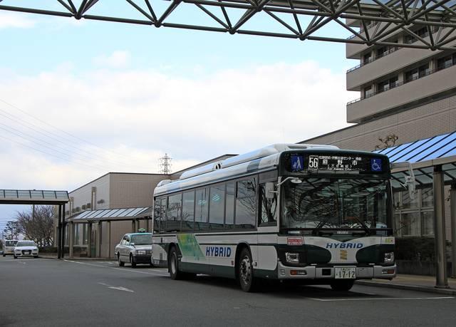 三重交通「松阪熊野線」 1712_11 松阪中央病院にて_01.jpg