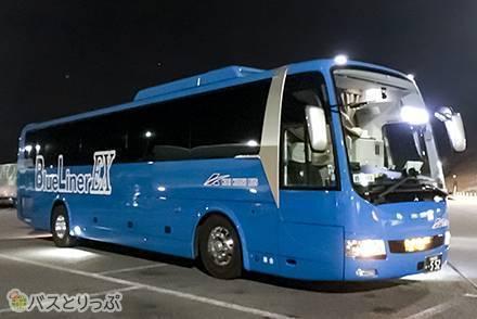 2018年12月から運行開始した新車両! 3列独立シート「ブルーライナーEX便」で大阪→東京へ