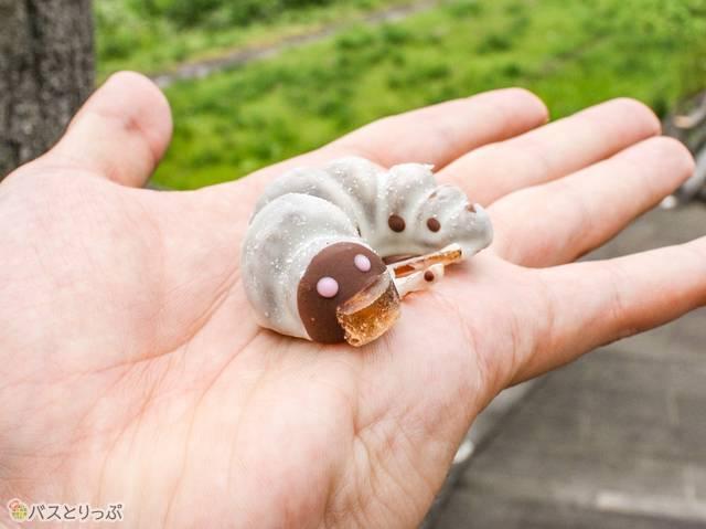 幼虫チョコ 230円 (かまくら館・幼虫チョコ・石蔵カフェ)