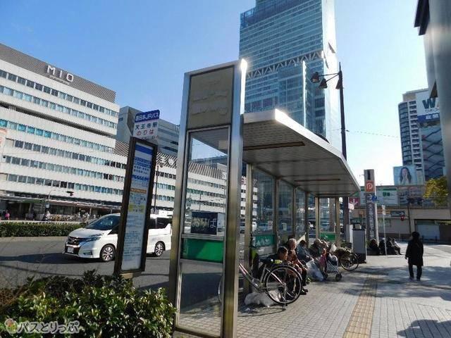 天王寺駅前バス乗り場