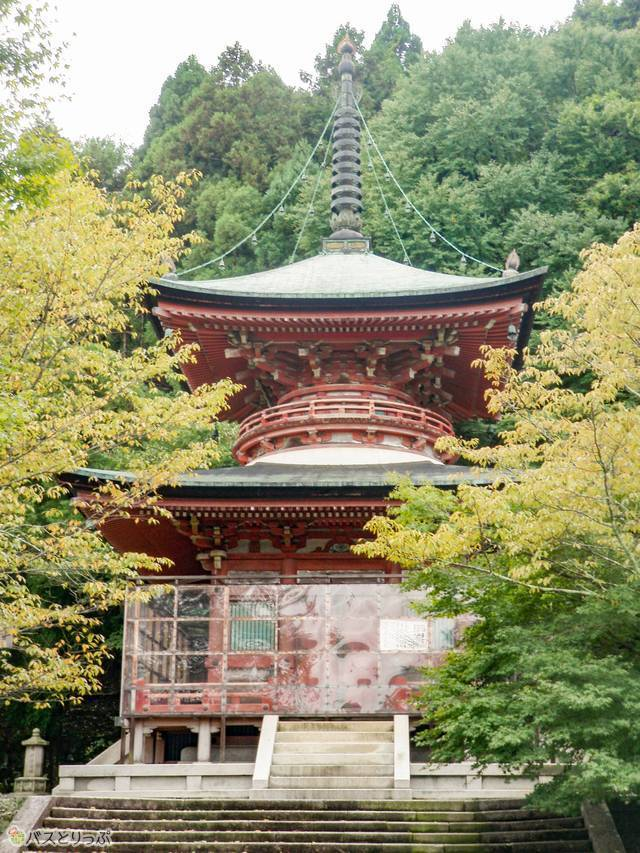 法輪寺の電電宮(髪の神様も! 京都・出町柳から自転車でおもしろ神社をめぐる)