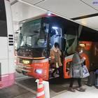 出発から約12時間、バスタ新宿に到着
