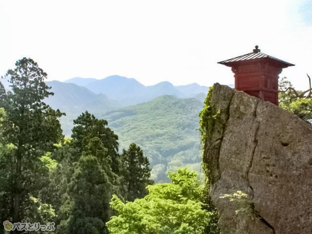 山寺では、こんな景色が待ってる(山形の山寺へ)