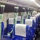 バスの車内。カーテン付きで快適(夜行バスで東京から山形へ)