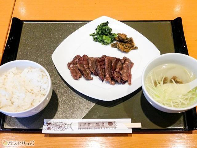 牛たん定食(1,510円)(朝から牛タン)