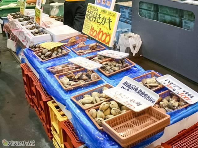 牡蠣!(とれとれ市場)