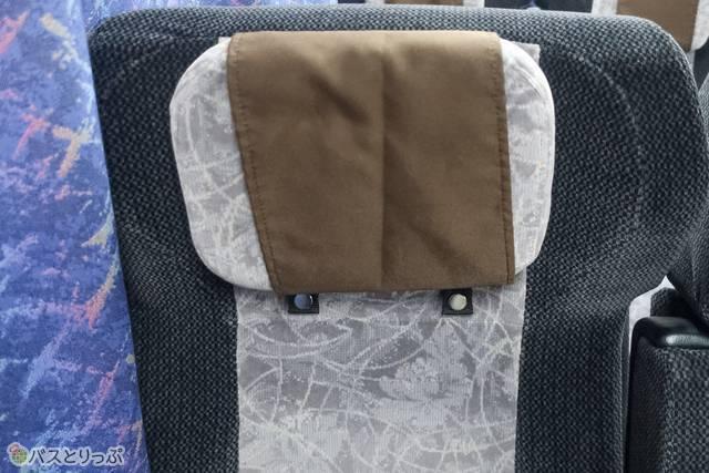 枕は位置を自由に動かせます