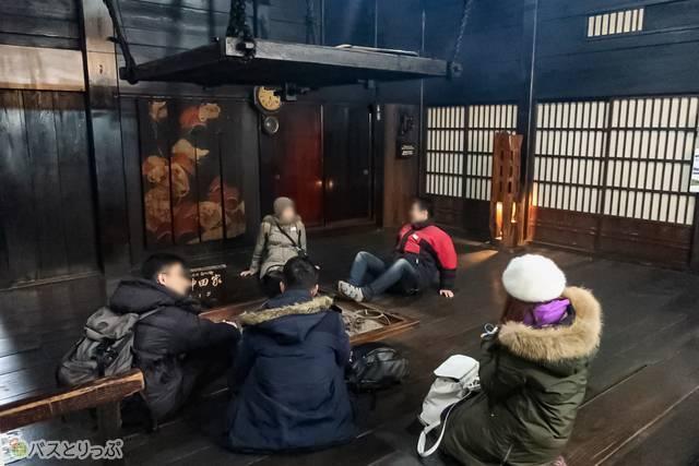 「神田家」は4階まで上がることができ、養蚕の作業場・道具や生活用具などの展示が!