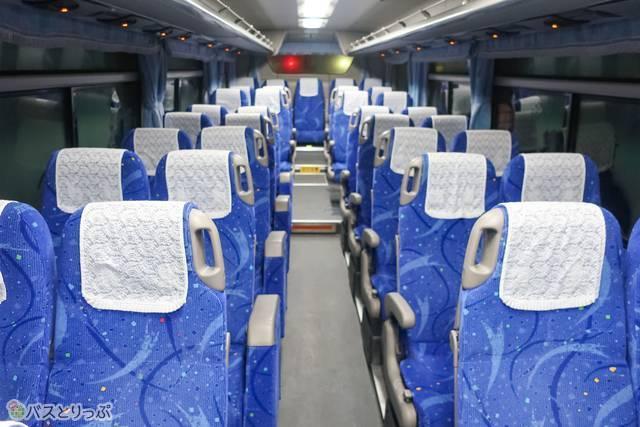 オーソドックスなバスです