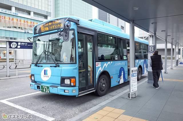 JR高松駅のバス発着所