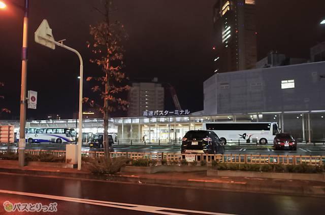 JR高松駅高速バスターミナル