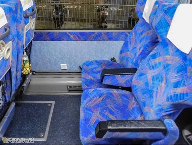 のびのびシートは座席が柔らかめ