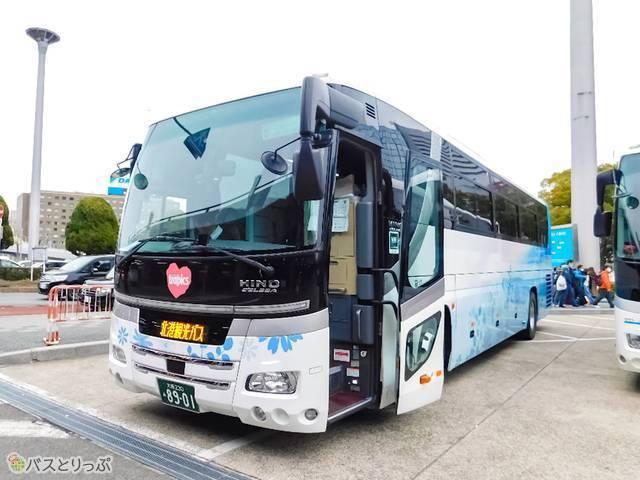 阪急交通社さんのミステリーバスツアーに潜入!