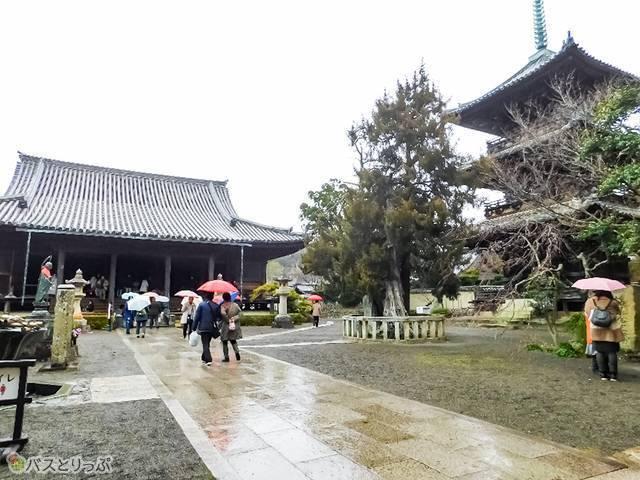 最初の到着地は和歌山県の「道成寺」