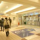 ゆうちょ銀行、横浜銀行、横浜信用金庫、中央労働金庫、三菱UFJ銀行のATMがある(編)