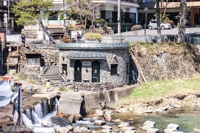 "F: Public bath ""Kawaranoyu"" 9:00-15:00(free to use)(Shima hot spring ASHIYU)"