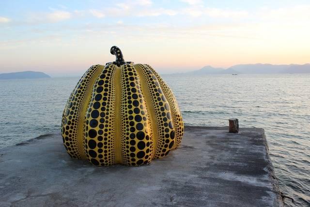 直島のかぼちゃ