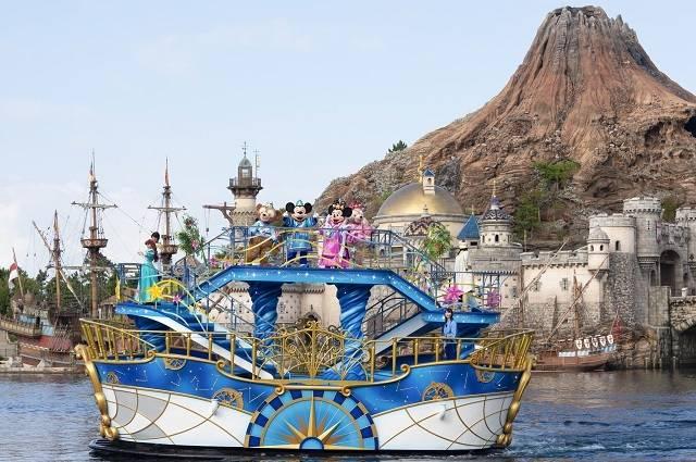 東京ディズニーシー「七夕グリーティング」(c)Disney