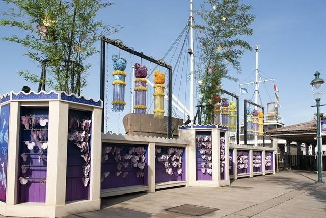東京ディズニーシーのウィッシングプレイス(c)Disney