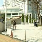 東京ドームシティの敷地に入るところ