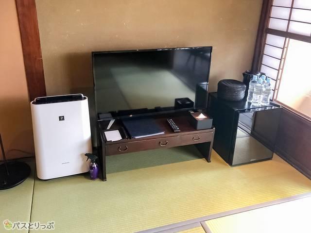 テレビや冷蔵庫などの設備