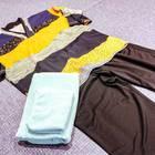 RAKU SPAコースを利用の場合は、館内着セットが貸し出されます