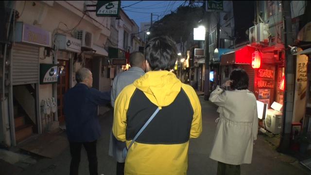 横須賀の裏路地