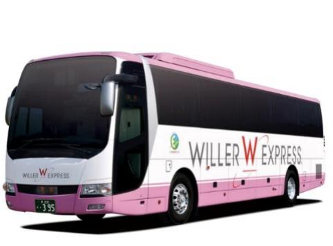 ウィラーのバス