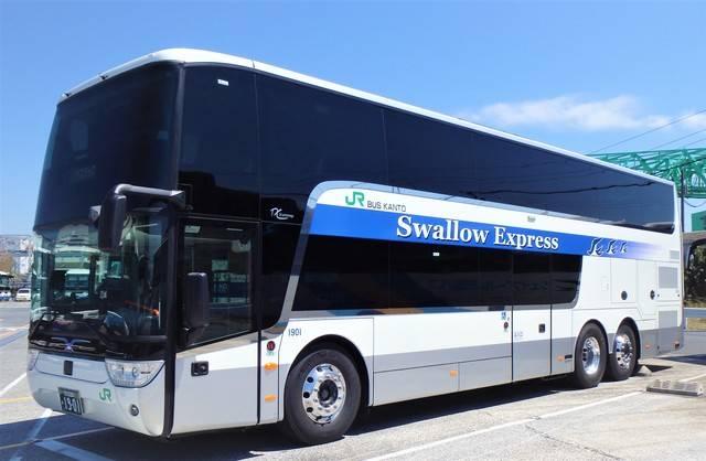 JRバステックの新型スカニア製2階建てバス