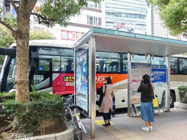 「大宮駅西口11番(そごう前)」バス停