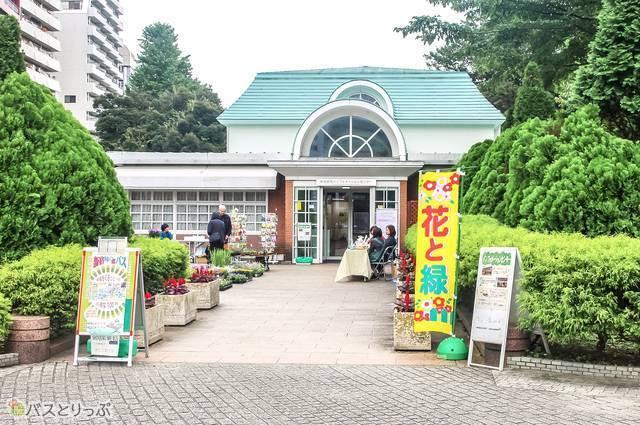 新宿御苑のインフォメーションセンター