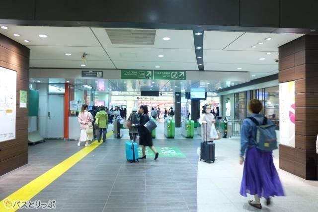 東京駅八重洲地下中央口改札