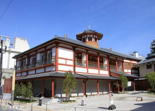 2017年9月にオープンした「別館 飛鳥乃湯泉」