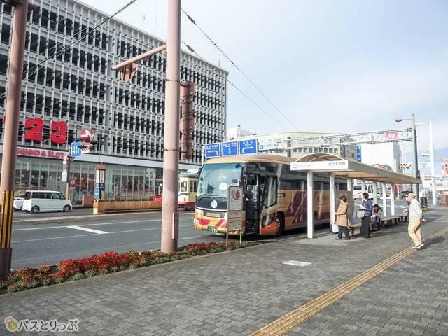 はりまや橋高速バス停留所1