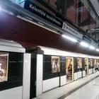 ケレンフェルド駅からゲッレールト駅に向かう