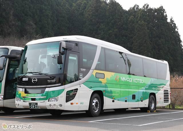 宮城交通のバス外観