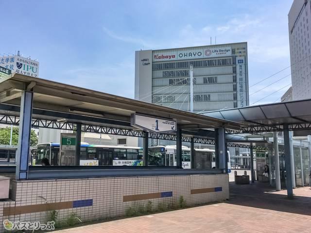 バスターミナルの様子