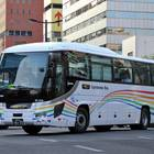 福岡~鹿児島線「桜島号」(新塗装)の車両外観