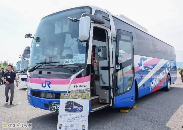 「西日本JRバス 高速バス車両」外観