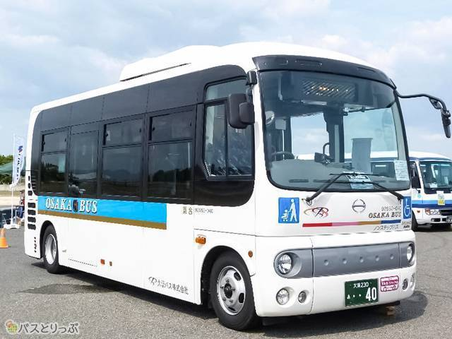「大阪バス 日野ポンチョ・ロング」外観