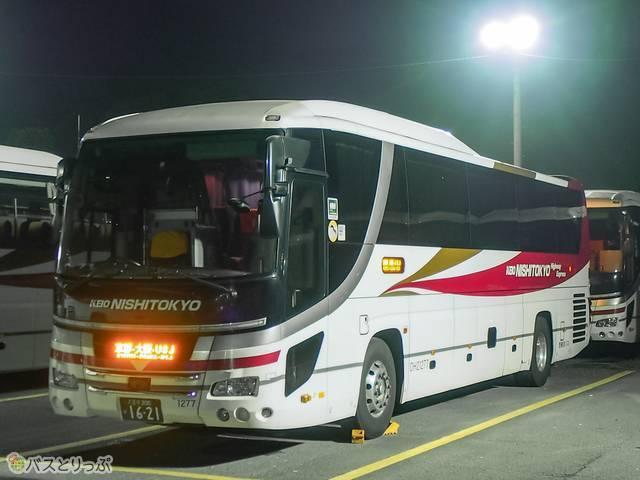 西東京バス車両外観