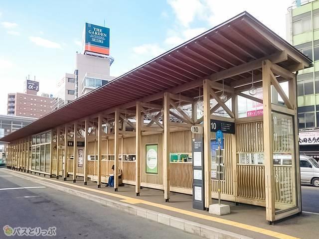 10番バス乗り場