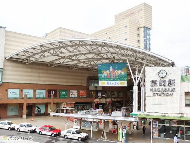 JR長崎駅には駅ビル「アミュプラザ長崎」あり