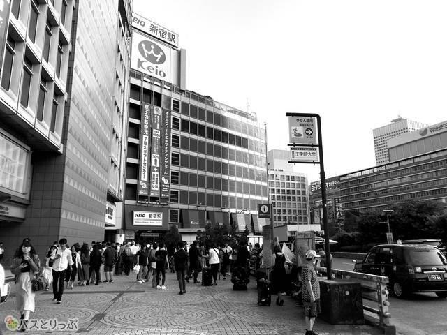 JR新宿駅西口(2019年6月撮影)