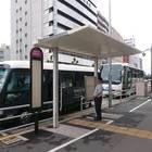 名古屋西口バス停からは多数のバスが発車する為、バスの確認はしっかり行いましょう