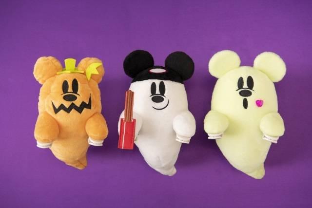 ぬいぐるみ 各1,700円(c)Disney