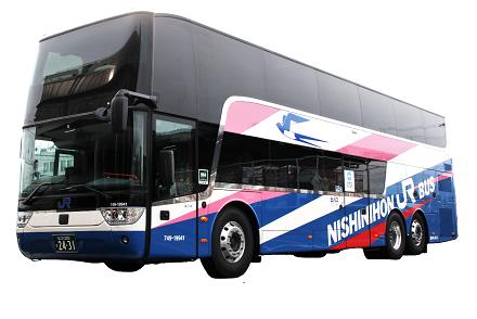西日本JRバス 京阪神~東京線の「ドリーム号」「昼特急号」に新型2階建てバスを導入! 8/1から運行開始