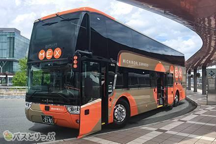 新車両「盛宮106特急」スカニア社製2階建バスに試乗! 日本初・3列シートを備えたスカニア社バスの乗り心地は?
